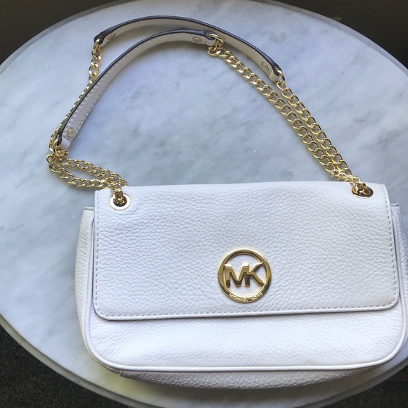 Michael Kors Handbags - Michael Kors white bag